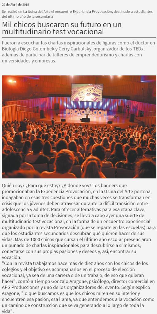 Site Diario Tiempo Argentino 29-04-15
